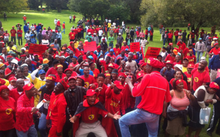 FILE: Numsa was expelled as Cosatu's official metalworkers union. Picture: EWN.