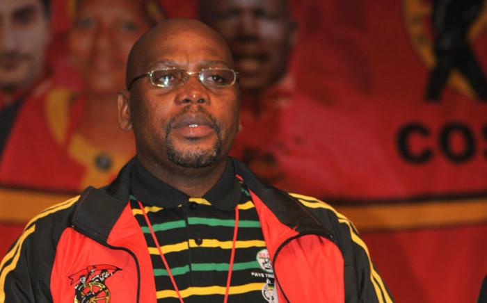 FILE. Congress of South African Trade Unions (Cosatu) President S'dumo Dlamini. Picture: Official Cosatu Facebook page.