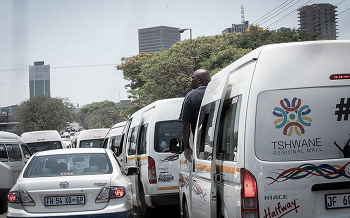 FILE: Taxi drivers in Marabastad on 18 November 2020. Picture: Xanderleigh Dookey/EWN