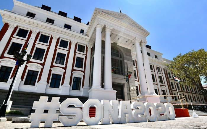 Parliament ahead of Sona 2020. Picture: Twitter/ParliamentofRSA