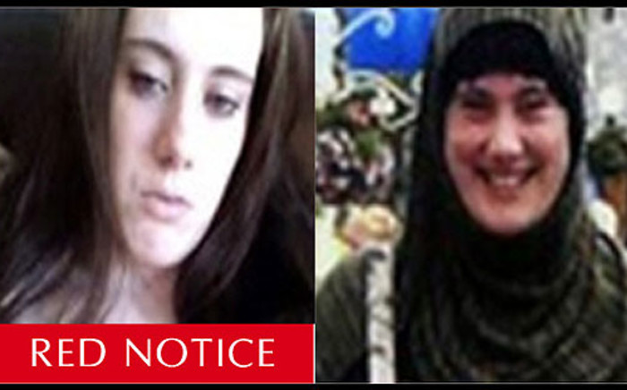 A Red Notice or warrant of arrest was issued by Interpol for Samantha Lewthwaite otherwise known as the 'White Widow'. Picture: Interpol