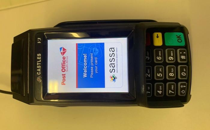 A cashless Sassa ATM. Picture: Supplied.