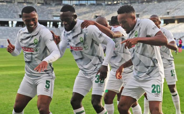 FILE: AmaZulu players celebrate a goal. Picture: @AmaZuluFootball/Twitter