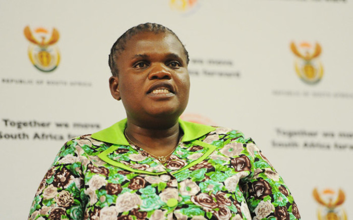 FILE: Minister of Communications, Faith Muthambi. Picture: GCIS.