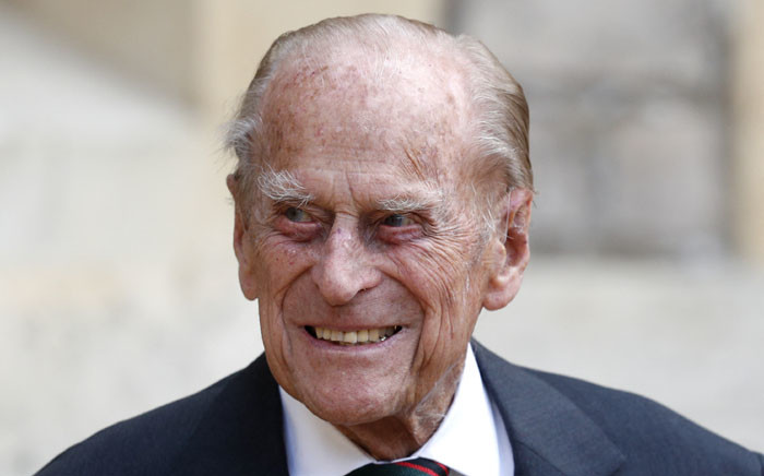 FILE: Britain's Prince Philip, Duke of Edinburgh, takes part in the transfer of the Colonel-in-Chief of The Rifles at Windsor castle in Windsor on 22 July 2020. Picture: Adrian DENNIS/POOL/AFP