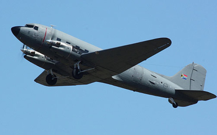 A SAAF Dakota C47 plane Picture: DC-3.co.za/Jens Frischmuth