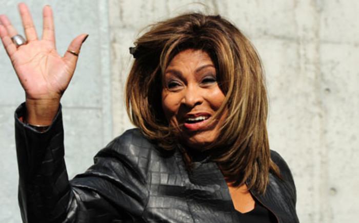 US singer Tina Turner. Picture: AFP