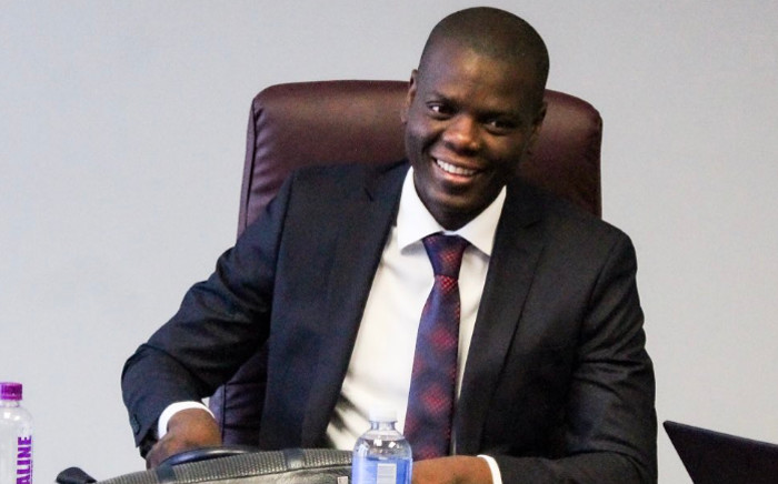 FILE: Justice and Correctional Services Minister Ronald Lamola. Picture: @RonaldLamola/Twitter.