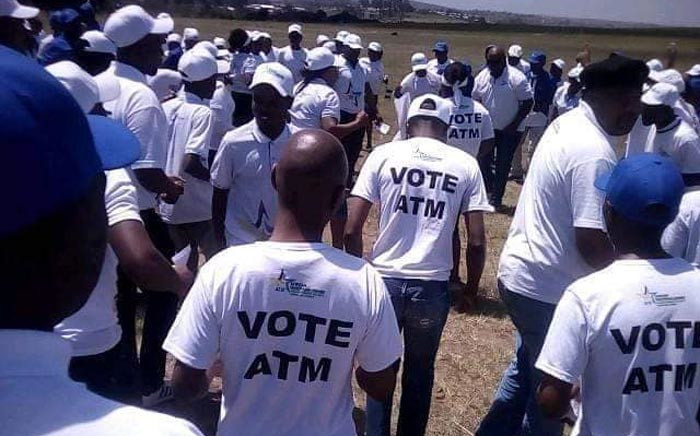 African Transformation Movement members on the campaign trail in the Eastern Cape. Picture: @AfricanTransformationMovement/Facebook.com.