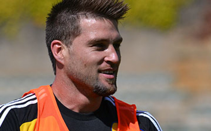 Hurricanes and All Blacks back Cory Jane training in Cape Town on 23 February 2012. Picture: Aletta Gardner/EWN.