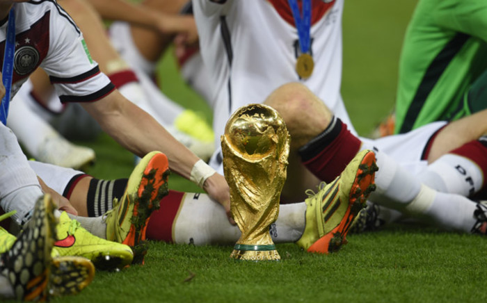 Germany win the 2014 Fifa World Cup final after beating Argentina 1-0 following extra-time at the Maracana Stadium in Rio de Janeiro, Brazil, on 13 July, 2014. Picture: AFP.