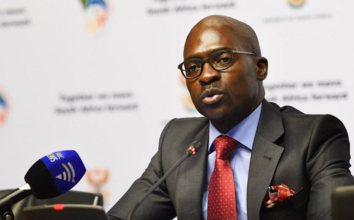 Home Affairs Minister Malusi Gigaba. Picture: @SAgovnews/Twitter