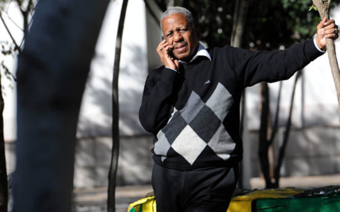 ANC treasurer general Mathews Phosa is seen during a break at the ANC's National Executive Committee meeting in Irene, 18 May 2012. Picture: SAPA