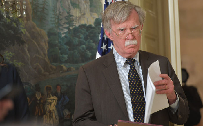FILE: White House National Security Advisor John Bolton. Picture: AFP