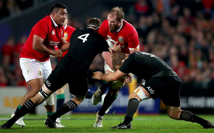 The British&Irish Lions‏ VS the All Black. Picture: Twitter @lionsofficial