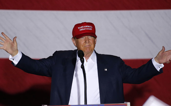 FILE: Republican presidential nominee Donald Trump. Picture: Rhona Wise/AFP.