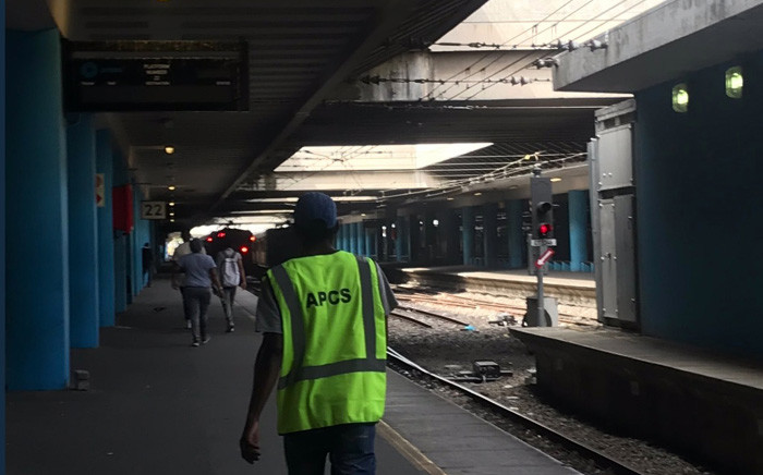 FILE: Cape Town train station. Picture: Kaylynn Palm/EWN