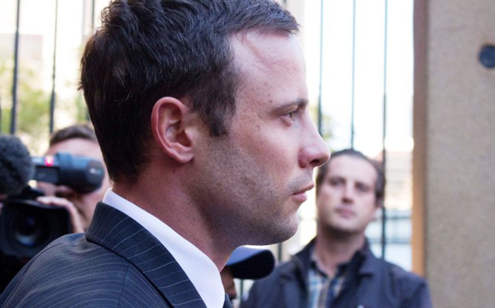 Oscar Pistorius leaves the North Gauteng High Court on 8 August, 2014. Picture: Christa Eybers/EWN.