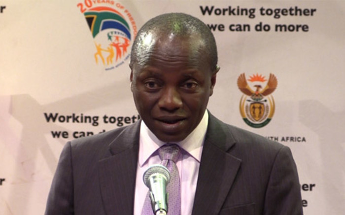 Public Service and Administration Minister Collins Chabane. Picture: Christa Eybers/EWN.