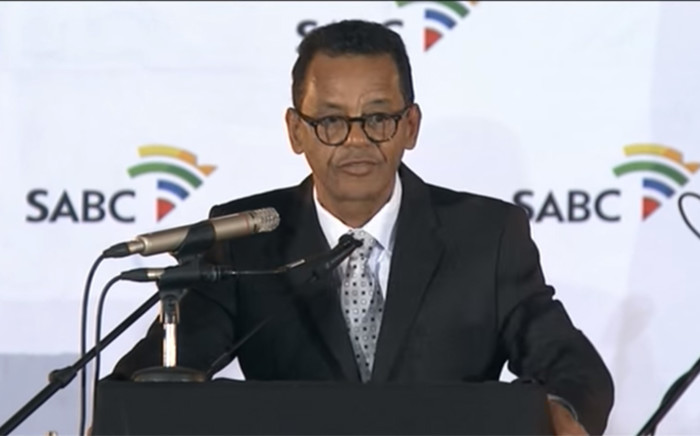 FILE: A screengrab showing acting SABC chief executive officer Jimi Matthews.