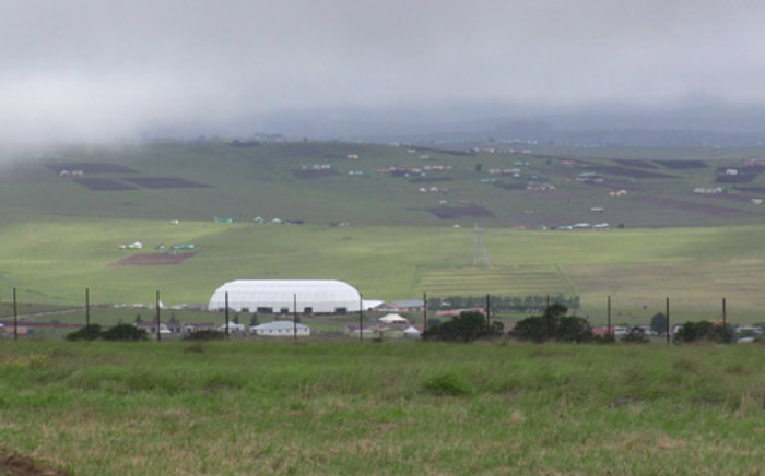 Preparations are nearing completion in Qunu where former president Nelson Mandela will be buried. Picture: Renee de Villiers/EWN.