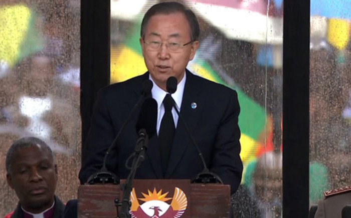 FILE: UN Secretary-General Ban Ki-moon. Picture: AFP.
