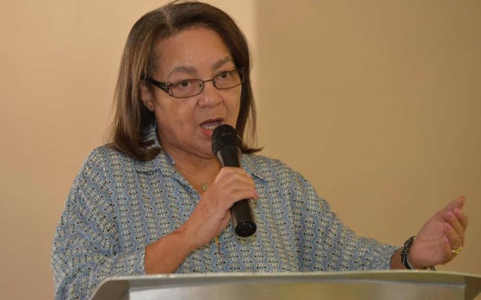 Cape Town Mayor Patricia de Lille. Picture: @PatriciaDeLille/Twitter.