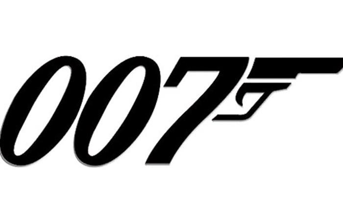James Bond logo. Picture: Supplied