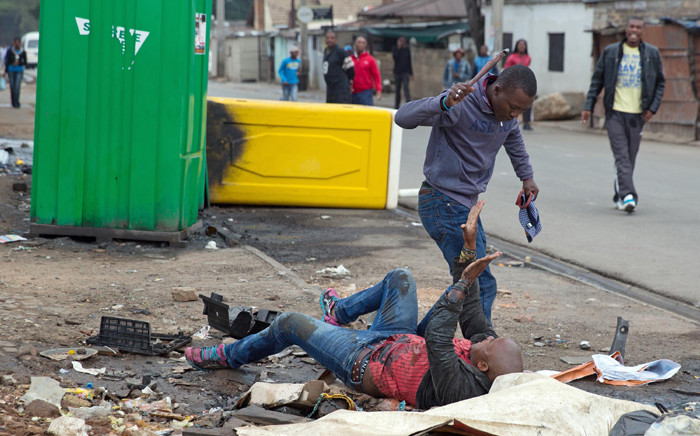 Four men have been arrested after the fatal stabbing of a Mozambican national Emmanuel Josias in Alexandra at the weekend.  Picture: James Oatway/Sunday Times.