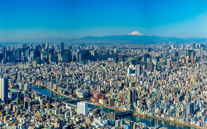 Tokyo, Japan. (Image by Pierre Blaché from Pixabay)