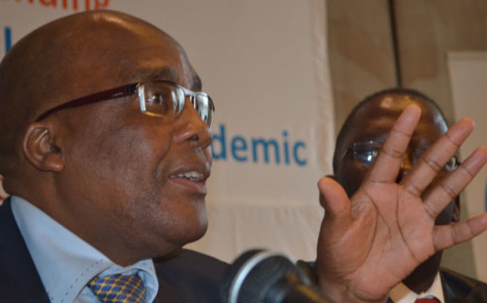 FILE: Health Minister Dr. Aaron Mostwaledi envisages curing TB by 2015