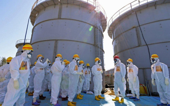 FILE: Fukushima power plant in Japan. Picture: AFP