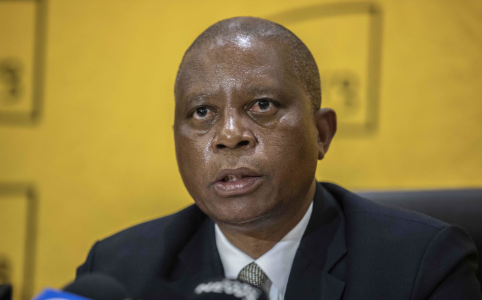 FILE: City of Johannesburg Mayor Herman Mashaba during a media briefing on 9 April 2019. Picture: Abigail Javier/EWN