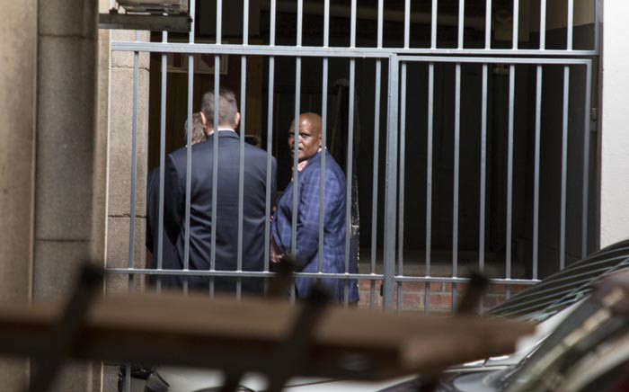 FILE: Former acting National Police Commissioner Khomotso Phahlane is seen at the Commercial Crimes Court in Pretoria where he was appearing on fraud and corruption charges. Picture: Ihsaan Haffejee/EWN