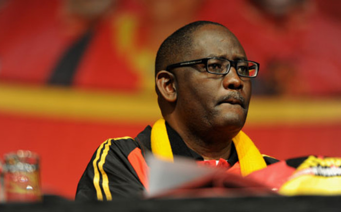 Cosatu general secretary Zwelinzima Vavi is seen at the trade union federation's 11th national congress in Midrand, Johannesburg, Wednesday, 19 September 2012. Picture: Werner Beukes/SAPA