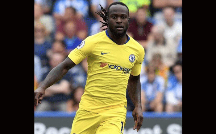 Chelsea's Victor Moses. Picture: @VictorMoses/Twitter.