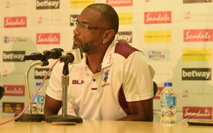 New interim head coach of the West Indies national cricket team Floyd Reifer. Picture : @windiescricket/Twitter.