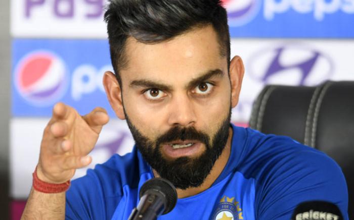 Indian cricketer Virat Kohli.Picture: AFP