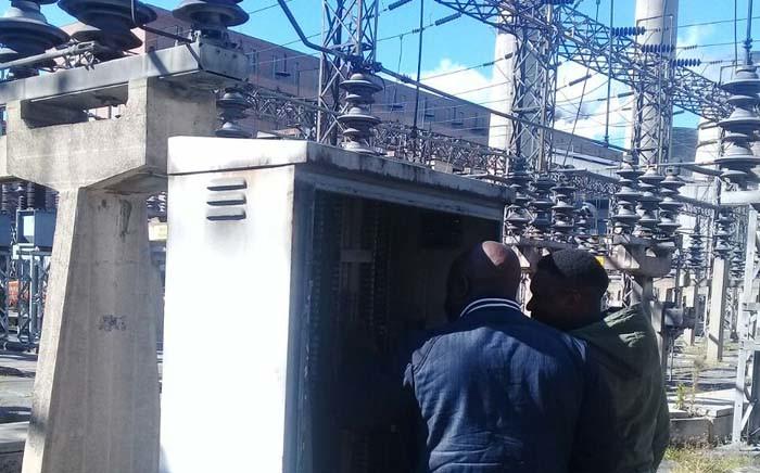 City Power technicians. Picture: City Power/Twitter
