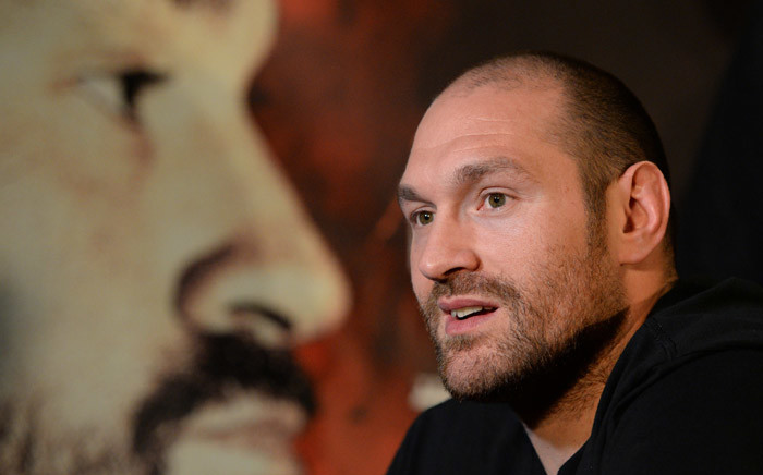 British heavyweight boxer Tyson Fury. Picture: AFP.