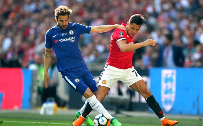 Manchester United forward Alexis Sanchez in action during his team's FA Cup final against Chelsea. Picture: @ManUtd/Twitter.
