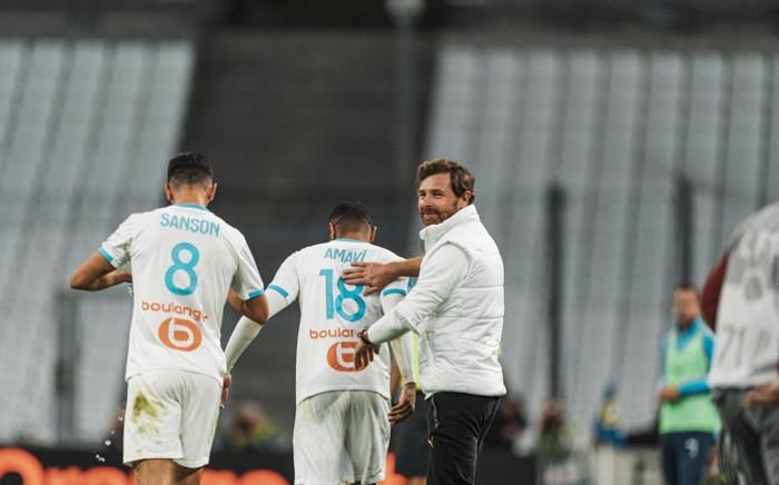 Marseille's Portuguese coach Andre Villas-Boas. Picture: AFP.