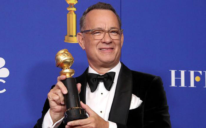 Tom Hanks, winner of the Cecil B. Demille Award, poses in the press room during the 77th Annual Golden Globe Awards at The Beverly Hilton Hotel on 5 January 2020 in Beverly Hills, California. Picture: AFP