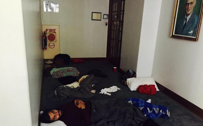 FILE: UCT management issued an eviction notice to the remaining students to vacate the building on Friday afternoon. Picture: Masa Kekana/EWN.