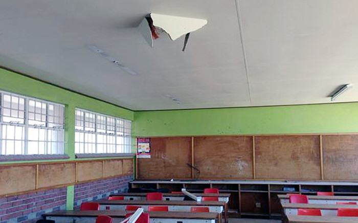 FILE: A classroom at Joe Slovo Secondary School after being vandalised during the school holidays. Picture: Xolani Koyana/EWN