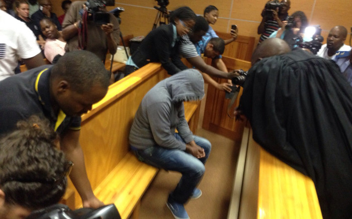 FILE: The 29-year-old truck driver, Amukelani Rikhotso from Giyani in Limpopo, in the dock during his court appearance on 17 March 2015. Picture: Govan Whittles/EWN..