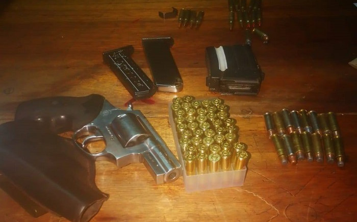 Illegal fire ammunition confiscated by the anti-gang unit in Khayelitsha. Picture: SAPoliceService/Facebook