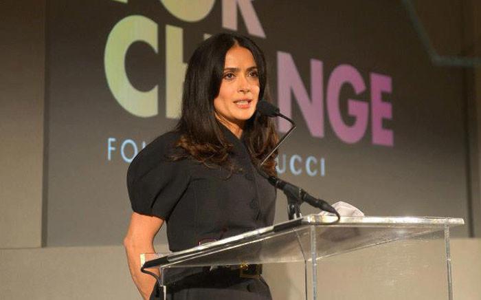 US actress Salma Hayek. Picture: Facebook.