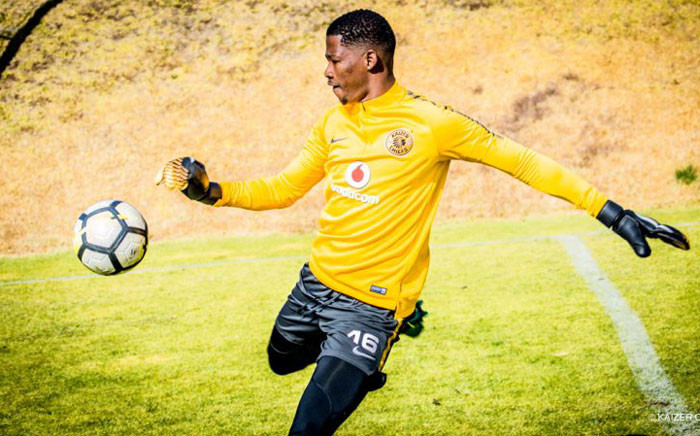 Kaizer Chiefs' newly signed goalkeeper Virgil Vries. Picture: Kaizerchiefs.com