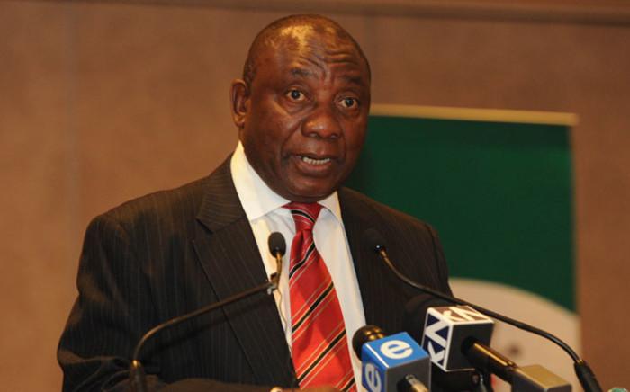 FILE: Deputy President Cyril Ramaphosa. Picture: GCIS.